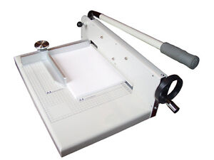"""New 17"""" Manual Stack Paper Cutter Trimmer Heavy Duty"""