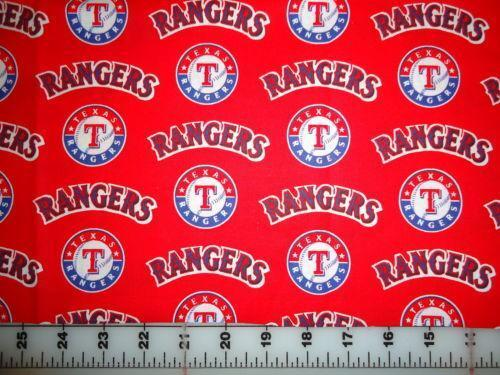 Red Baseball Fabric Ebay