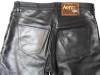 Aero leathers leather jeans trousers wanted