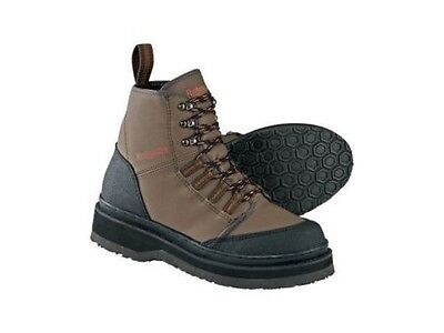Hodgman Bear Creek Fishing Wading Boot Shoe with no slip Sole Brown