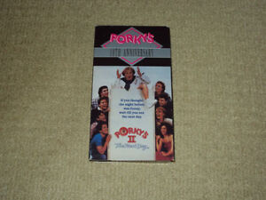 PORKY'S 2 THE NEXT DAY, VHS MOVIE, EXCELLENT CONDITION