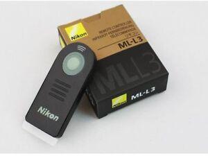 ML-L3 IR Remote Control For Nikon D7200 D7100 D5300 D5200 D3300