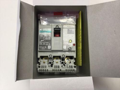 Fuji Electric EW50RAGU-3P040 Earth Leakage Circuit Breaker