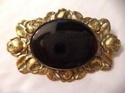 Antique Rhinestone Brooch