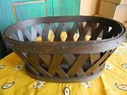 Longaberger Laundry Basket