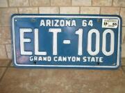 Vintage Arizona License Plate