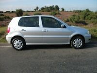 VW polo silver 2001. Great runner in good condition!