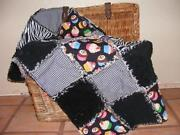 Rag Quilt Throw