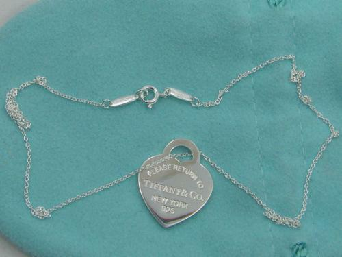 b0599a274 Return to Tiffany Necklace | eBay
