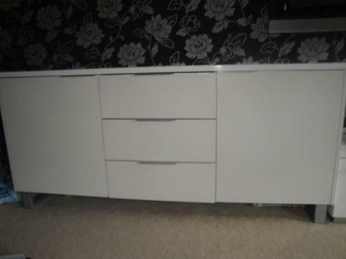 White Sideboard Cabinets Amp Dressers Ebay