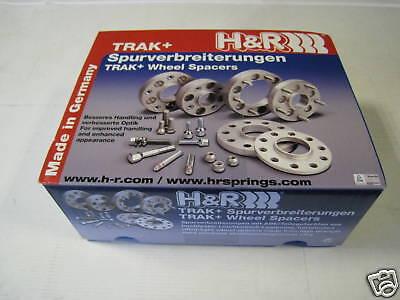 H/&R SPURVERBREITERUNG in schwarz 60mm für VW Bus T5//T6