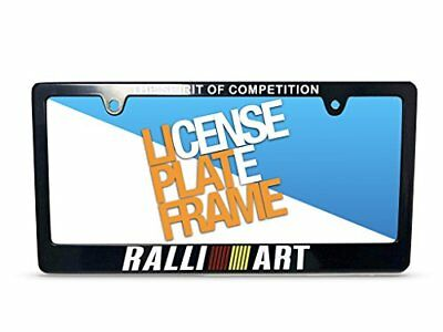 Mitsubishi Eclipse Ralliart - RALLIART Racing License Plate Frame For MITSUBISHI LANCER GALANT ECLIPSE 1PC