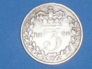 Silver Threepence Victoria