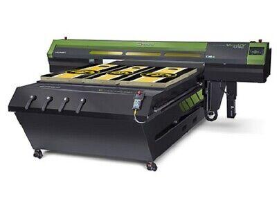 Roland Lej-640ft Uv Flatbed Printer Used