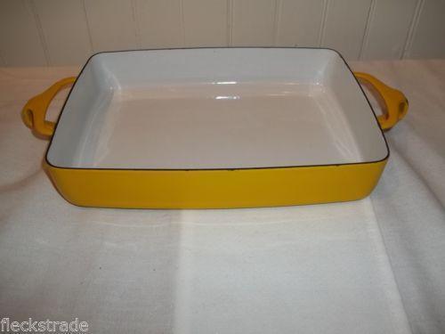 Vintage Enamel Baking Pans Ebay