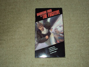 THE FUGITIVE, VHS MOVIE, EXCELLENT CONDITION