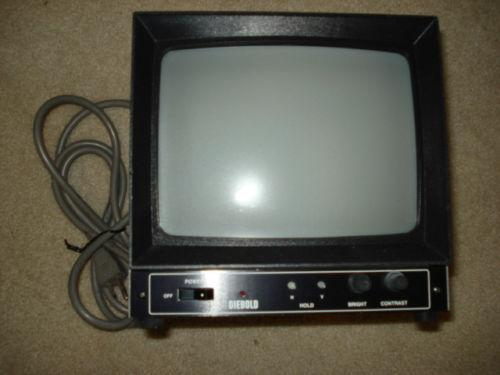 Black And White Security Monitor Ebay