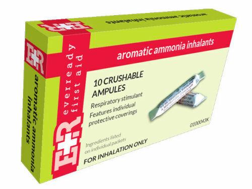 AMMONIA INHALANT AMPULES - 10CT/BOX