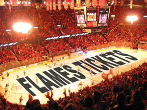 2 or 4 Tickets Calgary Flames - All Games (LOWER BOWL or 200's)