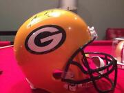 Aaron Rodgers Signed Full Size Helmet
