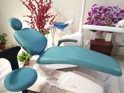Dental Chair Unit Cover Pu Leather For Dentist Chair Stool Waterproof 2set8pcs