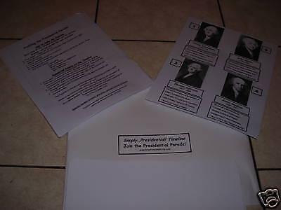 NEW SIMPLY PRESIDENTIAL U.S. HISTORY TIMELINE presidents American (Presidential Timeline)