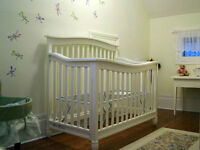 Pali Wendy Forever Crib/Toddler Bed/Double Bed with Toddler Rail