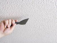 TEXTURED CEILINGS – NEW, PATCH & MATCH or MADE SMOOTH