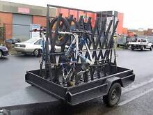 9x5 Single Axle Bike Carrier Trailer - Fast trailer Epping Whittlesea Area Preview