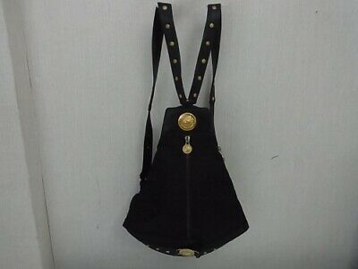 KC02 Gianni Versace Sunburst backpack rucksack Gold Hardware