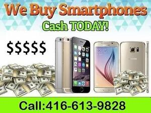 WE BUY USED PHONES FOR CASH --- IPHONE ------- SAMSUNG-----