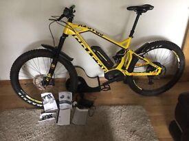 2017 Mondraker E-Crafty XR+ 27.5 Large Mountain Bike