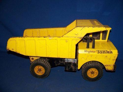 Tonka Mighty Dump Truck Ebay