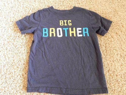 Carters big brother clothing shoes accessories ebay for Big brother shirts for toddlers carters