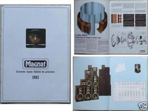 MAGNAT LOUDSPEAKERS BROCHURE 1983 - France - Brochure with photos, descriptions and specifications8 pages , 21x29 cm, in french, GOOD CONDITION (year written on the last page) SEE MY OTHERS VINTAGE HIFI BROCHURE TO REDUCE SHIPPING RATES - France