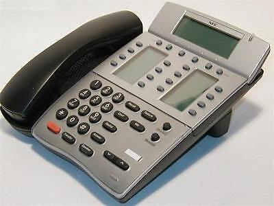 Nec Dtr-16ld-1 16-button Desi-less Display Telephone Blackrefurbished