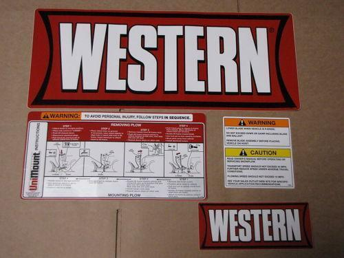 Western Snow Plow Mounts | eBay on