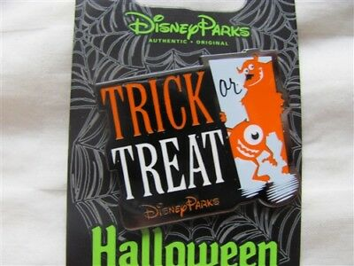 Disney Trading Pin  110847 Halloween 2015 - Trick or Treat Disney park with Mik - Disney Park Halloween Treats