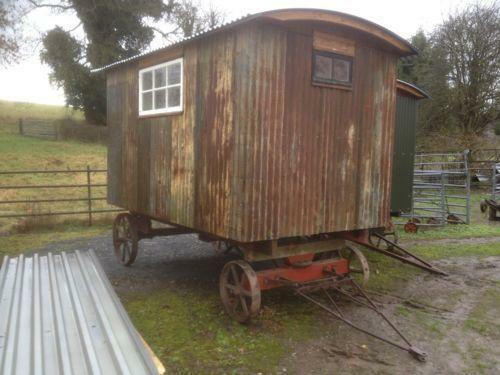 Shepherds hut agriculture farming ebay for Garden hut sale