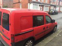 Vauxhall Combi CDTi VAN Crew Cab MOT Good Runner Sliding Doors Both Side Very Clean Inside & Out