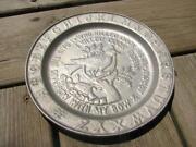 Wilton Pewter Plate