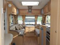 Abbey spectrum 418 caravan