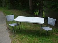 Vintage Arborite Table and Chair Set