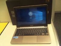 ASUS LAPTOP RELIABLE E200H 11.6. VERY FAST LAPTOP. STYLISH AND SLEEK. CAN BE USED FOR GAMING TOO..