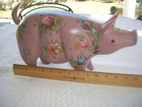 Vintage Pig Ebay