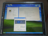 19 inch TOUCH SCREEN with a PC built in ALL IN 1 (OPEN FRAME) NO OPERATING SYSTEM