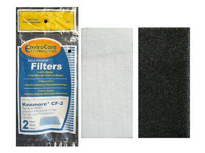 (1) Kenmore CF2 Foam Safety Vacuum Filter, Upright, Progressive Vacuums