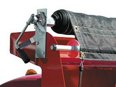 Buyers Commercial 7'x??' Dump Truck Mesh Tarp Manual Cab Level Crank Roller Kit