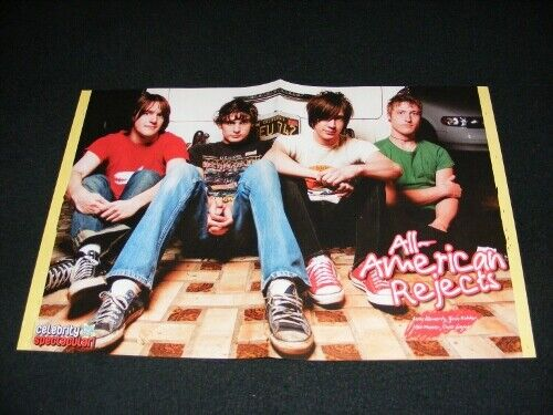 ALL-AMERICAN REJECTS magazine clippings