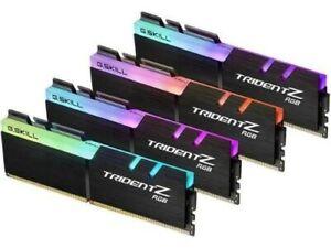 G.SKILL F4-3000C16Q-32GTZR Trident Z RGB Series 32GB- 288-Pin SD